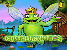 В клубе Супер Слотс Супер Удачливая Лягушка